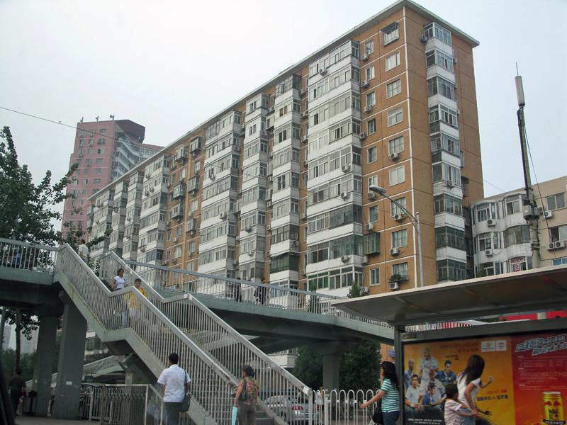 This apartment's building looks more familiar