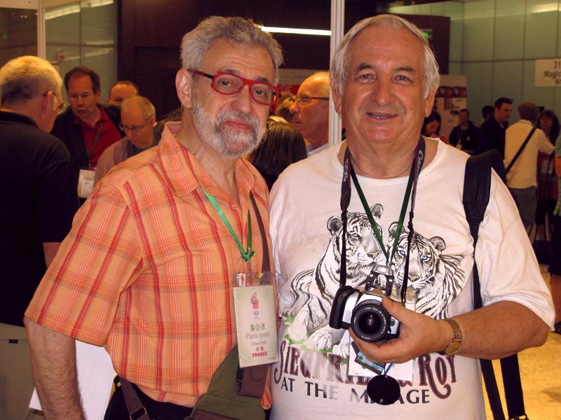 With Jean GARANCE (Switzerland) (1937-2010)