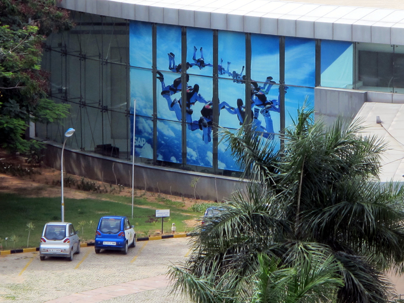 Bangalore, SAP Company's building