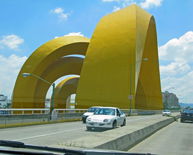 A bridge in town.