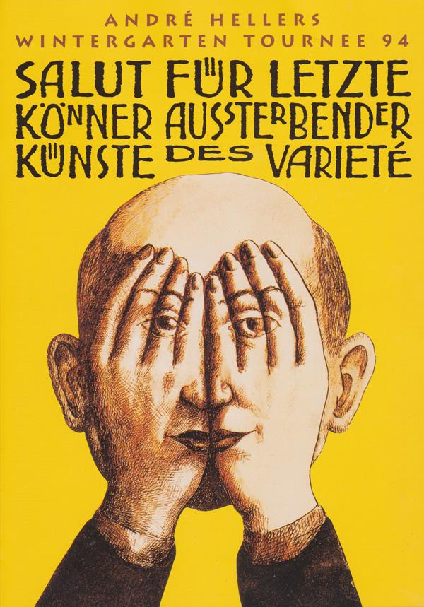 "Germany, Switzerland, Austria - ""Salut, Wintergarten"" tour -  1994"