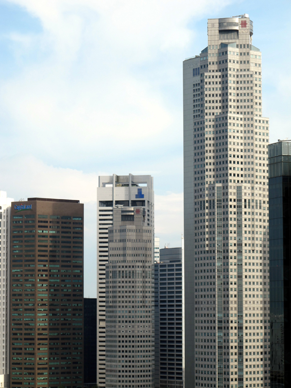 Some of the city's skyscrapers