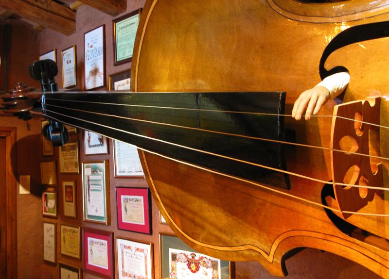 In the Casa Magica magic museum.