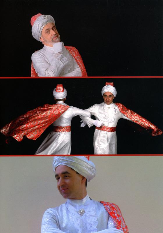 """France, """"La Revue de la Prestidigitation"""" (FFAP), page quatre de couverture, numéro spécial consacré à Omar Pasha, 2014"""